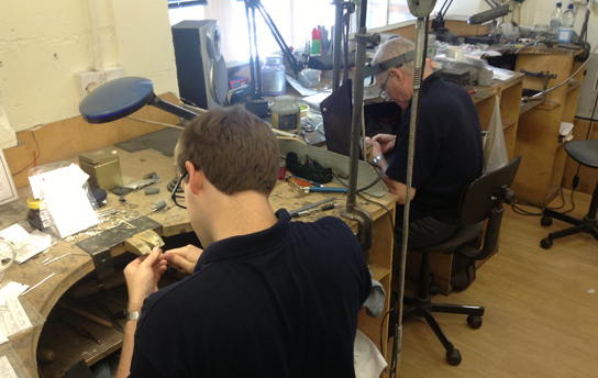 In the Jewellery Workshop